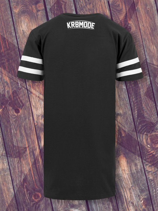 KRBxIKRZ /// DEA FACE /// STRIPE BLACKSHIRT